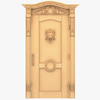 Lion Head External Door